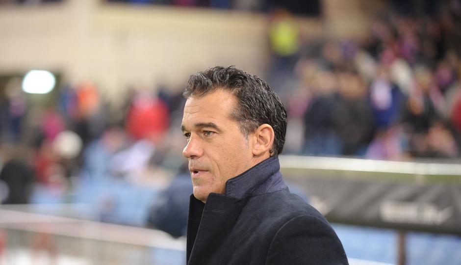 Temporada 2013/2014. Atlético de Madrid - Getafe. Luis García entrenador Getafe