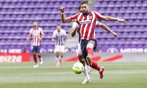 Temp. 20-21   Valladolid-Atleti   Yannick Carrasco