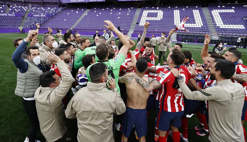 Temp. 20-21 | Valladolid-Atleti | Celebración