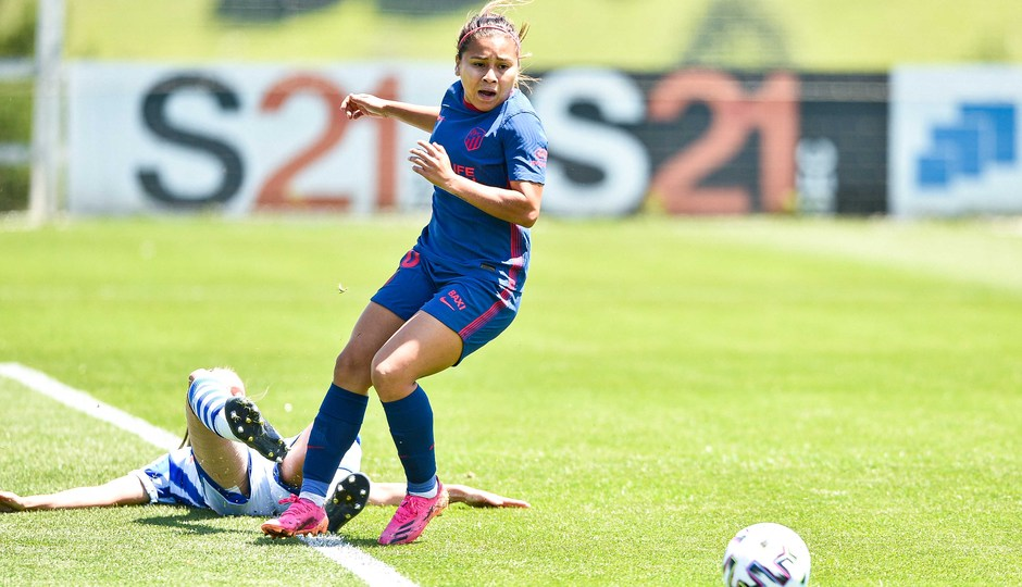 Temp. 20-21 | Real Sociedad-Atleti Femenino | Leicy