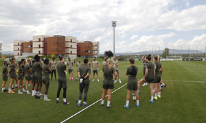 Temp. 20-21 | Copa de la Reina | Atlético de Madrid - Levante | Entrenamiento