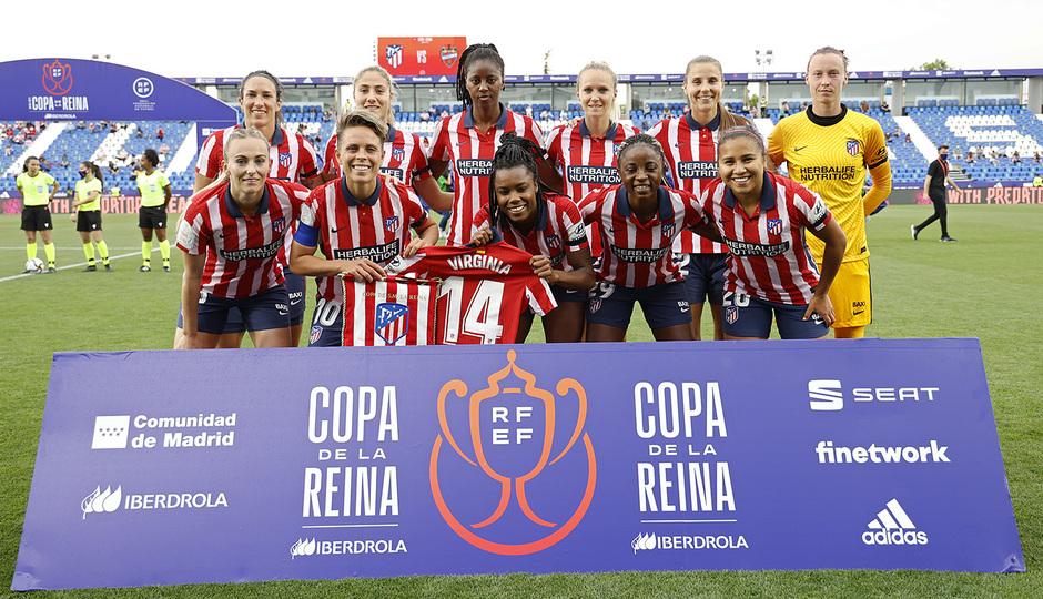 Temp. 20-21 | Copa de la Reina | Atleti Femenino - Levante | Once