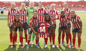 Temp. 20-21   Atlético de Madrid Femenino - FC Barcelona   Once