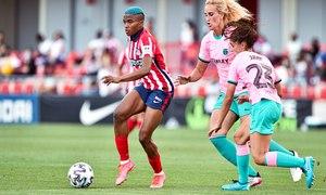 Temp. 20-21   Atlético de Madrid Femenino - FC Barcelona   Ajibade