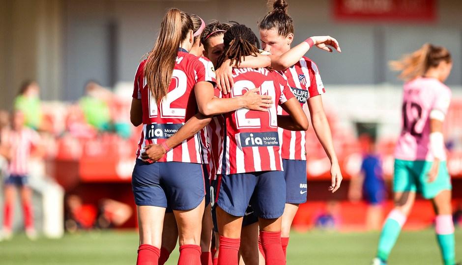 Temp. 20-21 | Atlético de Madrid Femenino - FC Barcelona | Emelyne Laurent