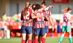 Temp. 20-21   Atlético de Madrid Femenino - FC Barcelona   Emelyne Laurent