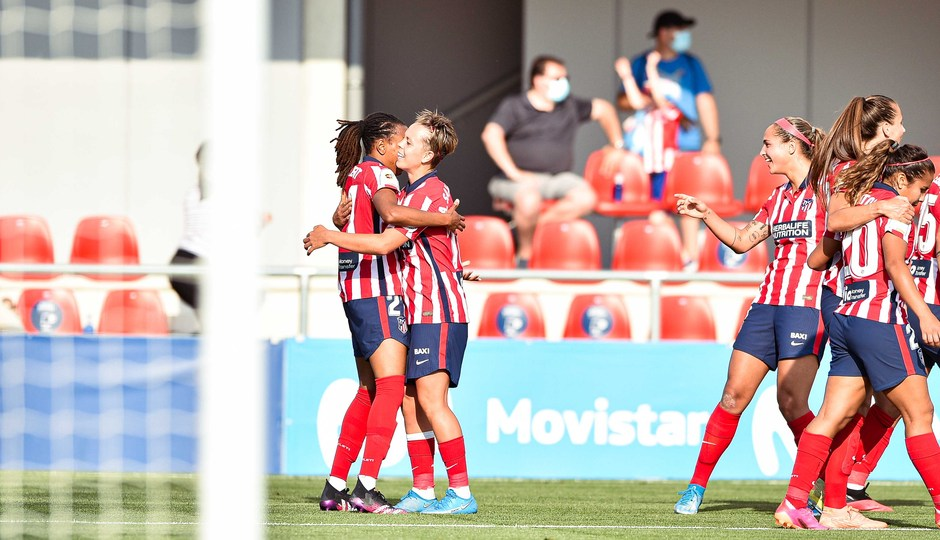 Temp. 20-21 | Atlético de Madrid Femenino - FC Barcelona | Celebración