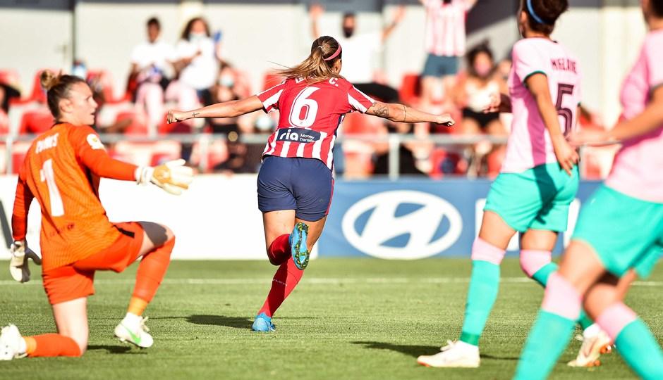 Temp. 20-21 | Atlético de Madrid Femenino - FC Barcelona | Deyna Celebración