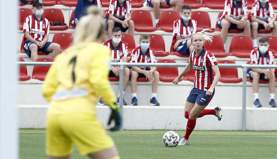 Temp. 20-21 | Atlético de Madrid Femenino - Espanyol | Turid Knaak