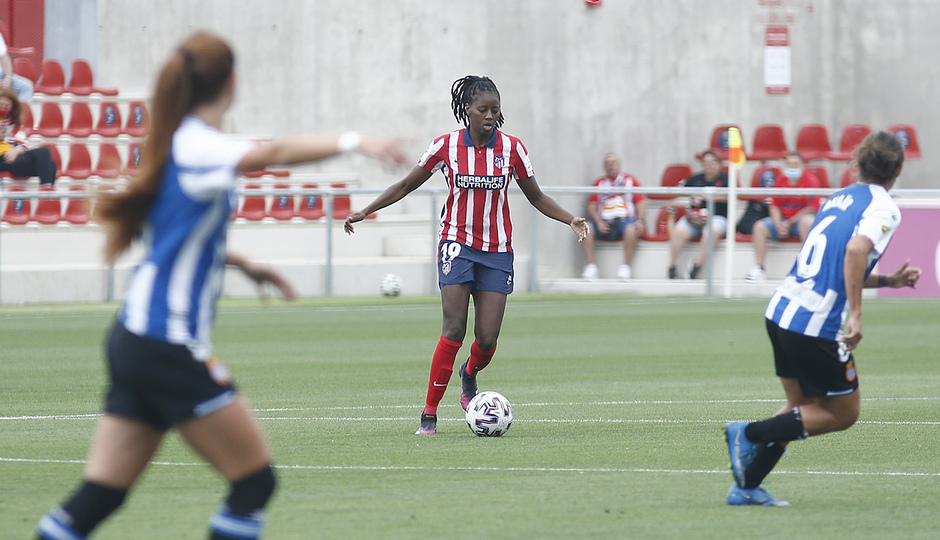Temp. 20-21 | Atlético de Madrid Femenino - Espanyol | Tounkara