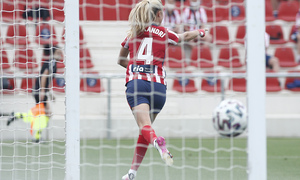 Temp. 20-21   Atlético de Madrid Femenino - Espanyol   Laia celebración gol