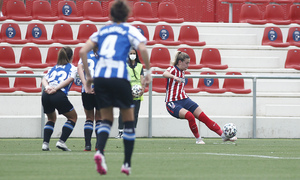 Temp. 20-21   Atlético de Madrid Femenino - Espanyol   Menayo pase gol Laia