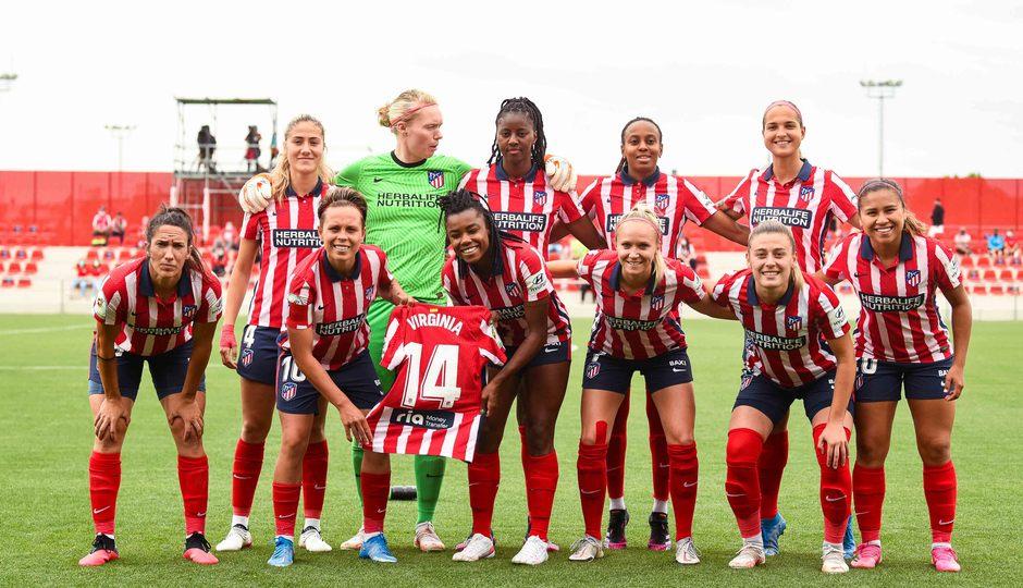 Temp. 20-21 | Atlético de Madrid Femenino - Espanyol | Once