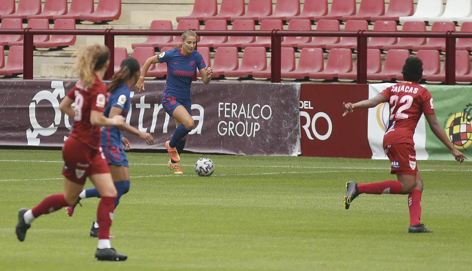 Temp. 20-21 |  EDF Logroño - Atlético de Madrid Femenino | Strom