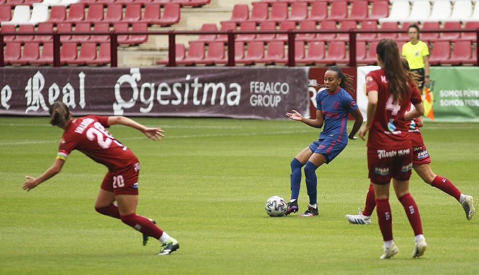Temp. 20-21 | EDF Logroño - Atlético de Madrid Femenino | Emelyne Laurent