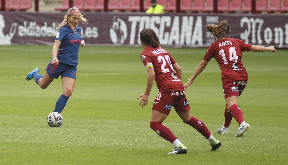 Temp. 20-21 | EDF Logroño - Atlético de Madrid Femenino | Deyna