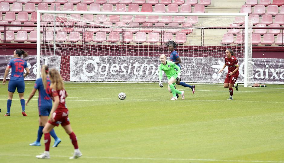Temp. 20-21 | EDF Logroño - Atlético de Madrid Femenino | Lindahl