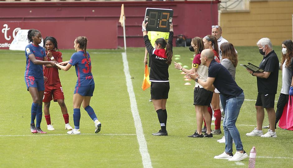 Temp. 20-21 | EDF Logroño - Atlético de Madrid Femenino | Yolanda Sierra