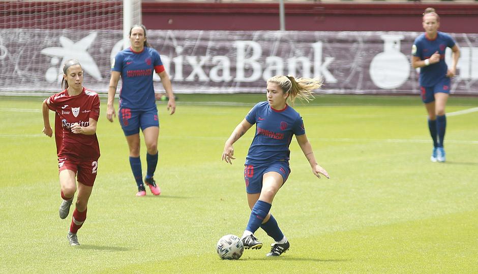 Temp. 20-21 | EDF Logroño - Atlético de Madrid Femenino | Claudia Iglesias
