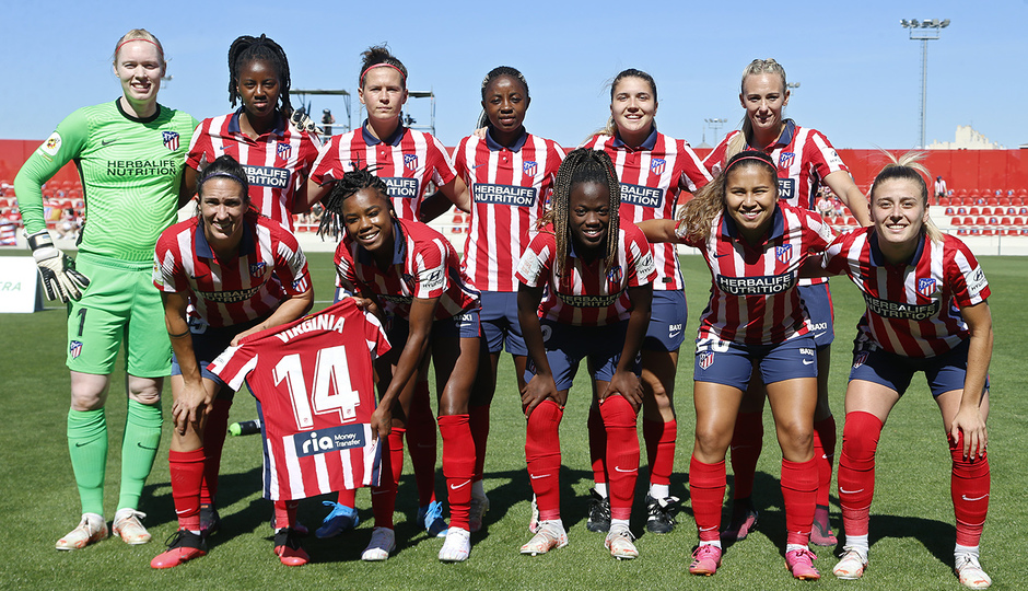 Temp. 20-21 | Atlético de Madrid Femenino - Levante | Once
