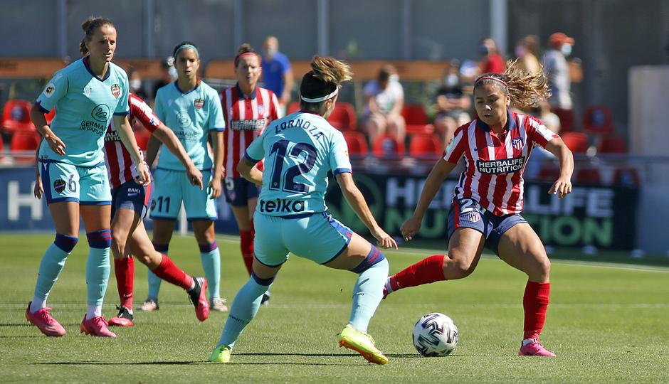 Temp. 20-21 | Atlético de Madrid Femenino - Levante | Leicy
