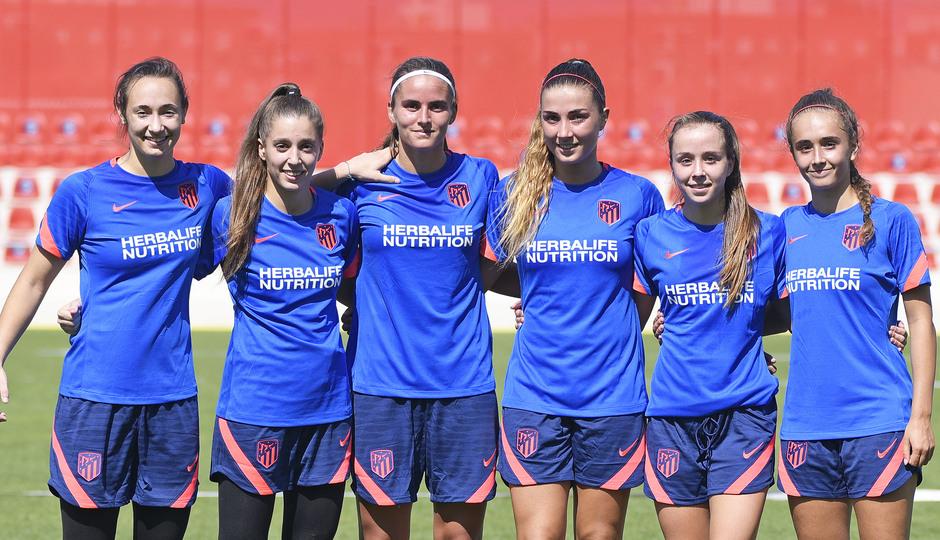 Temp. 21-22 | Entrenamiento Atlético de Madrid Femenino | Jugadoras Academia