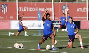 Temp 21/22 | Entrenamiento 02/08/2021 | Suárez y Garcés