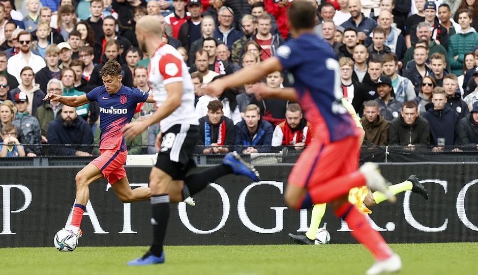 Temp 21/22 | Feyenoord - Atlético de Madrid | Llorente
