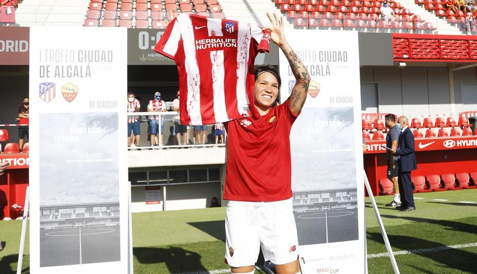 Temp. 21-22 | Atlético de Madrid Femenino - AS Roma | Homenaje Linari