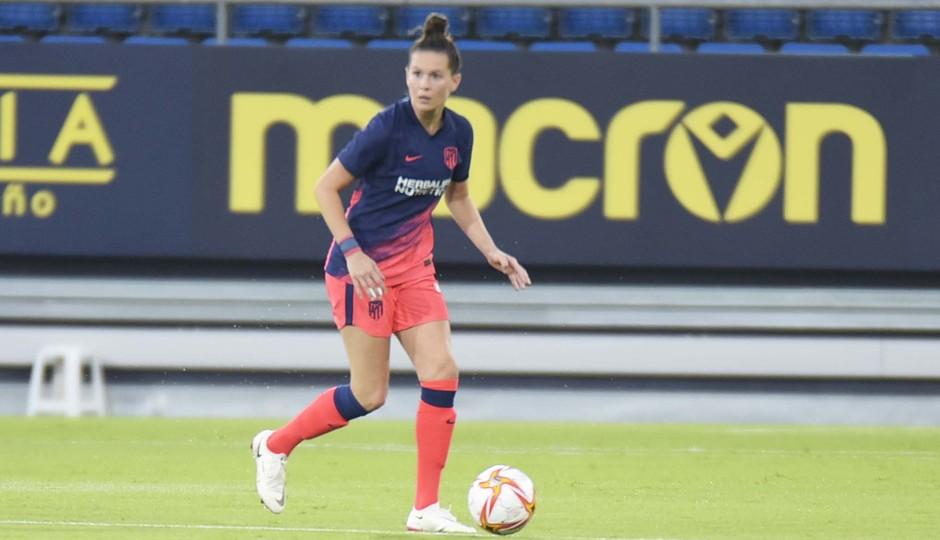 Temporada 2021/22   Trofeo Carranza   Athletic-Atleti Femenino   Merel Van Dongen