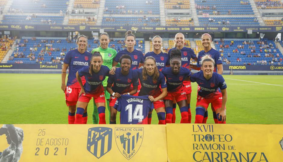 Temporada 2021/22   Trofeo Carranza   Athletic-Atleti Femenino   Once