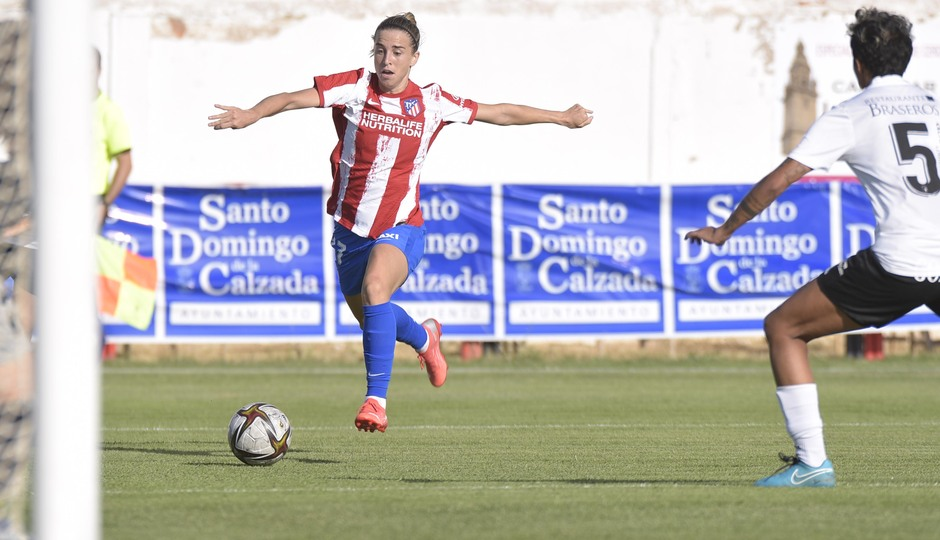 Temporada 2021/22   Triangular amistoso   Atleti Femenino-Burgos   Bárbara