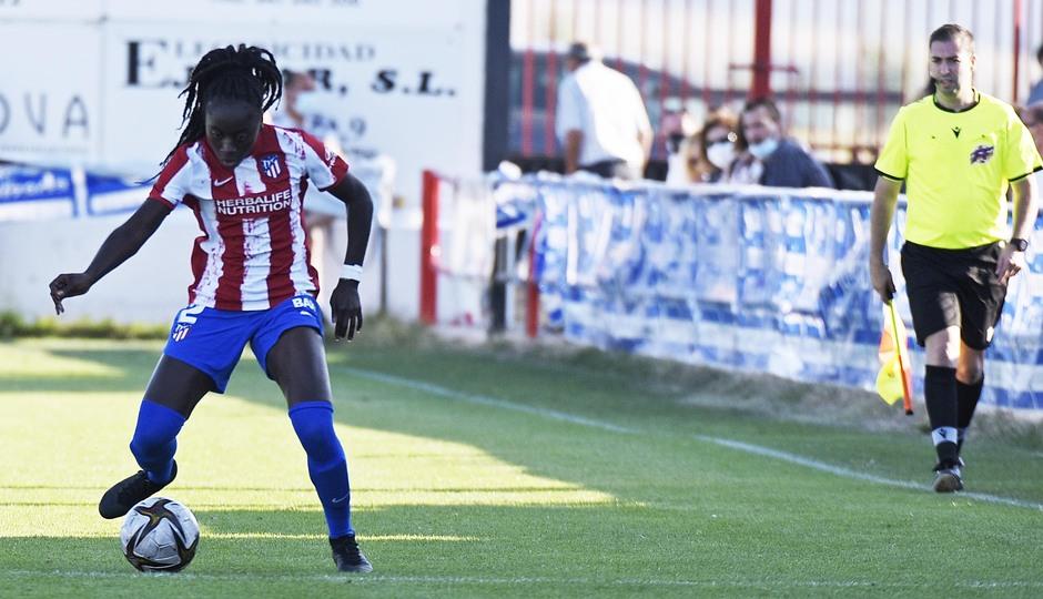 Temporada 2021/22   Triangular amistoso   Atleti Femenino-Burgos   Simon