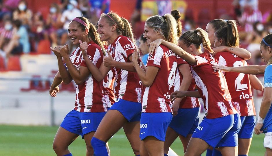 Temp. 21-22 | Atlético de Madrid Femenino - Rayo Vallecano | Celebración Maitane