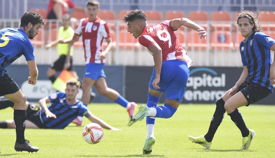 Temp. 21-22 | Atlético de Madrid B - AD Parla | Carlos