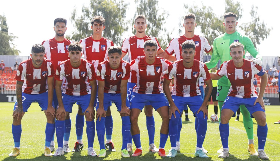 Temp. 21-22 | Atlético de Madrid B - AD Parla | Once