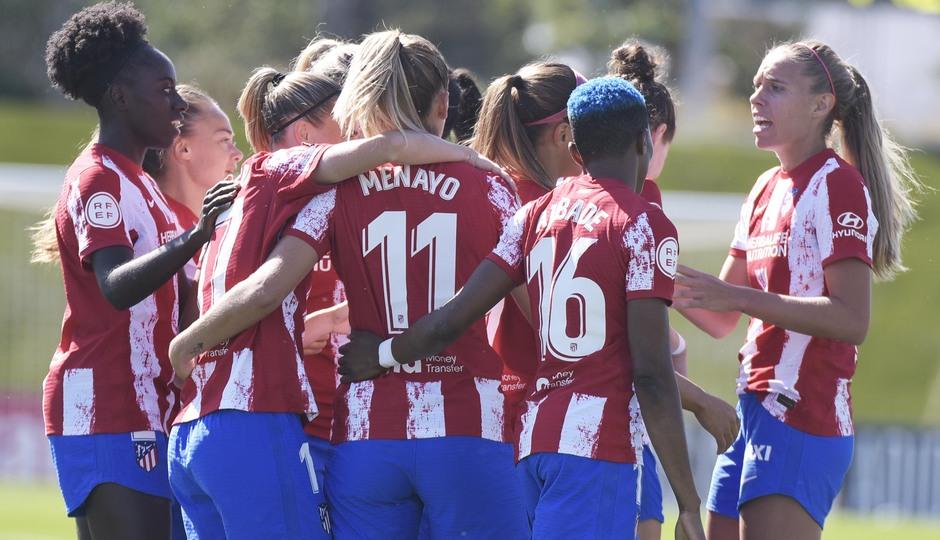 Temporada 20-21 | Real Madrid - Atlético de Madrid Femenino | Piña