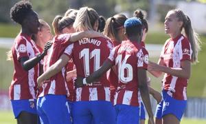 Temporada 20-21   Real Madrid - Atlético de Madrid Femenino   Piña