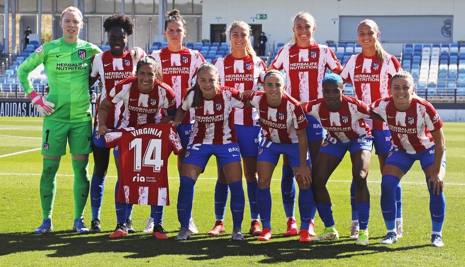 Temporada 20-21 | Real Madrid - Atlético de Madrid Femenino | Once