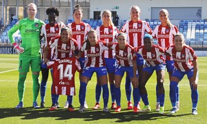 Temporada 20-21   Real Madrid - Atlético de Madrid Femenino   Once