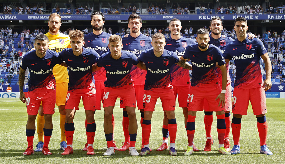 Temporada 21-22 | Espanyol - Atlético de Madrid | Once