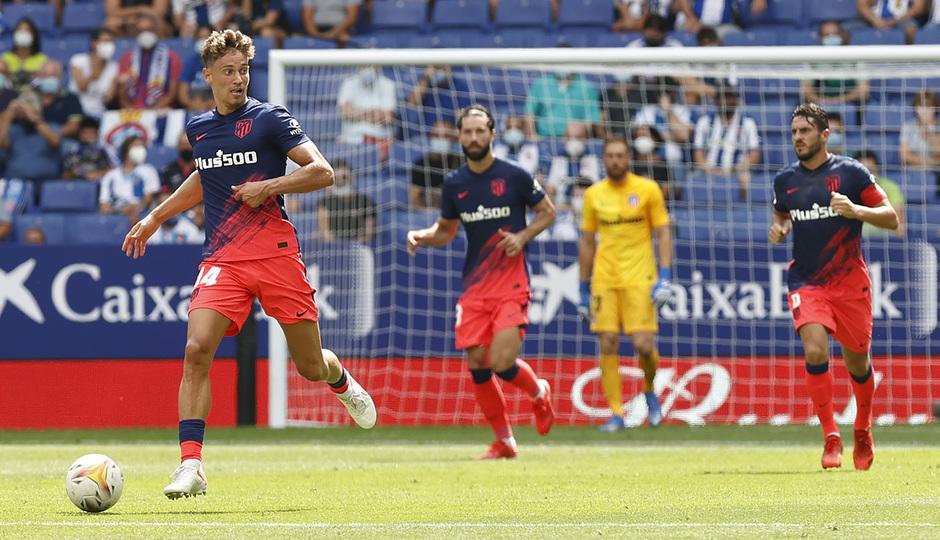 Temporada 21-22 | Espanyol - Atlético de Madrid | Llorente