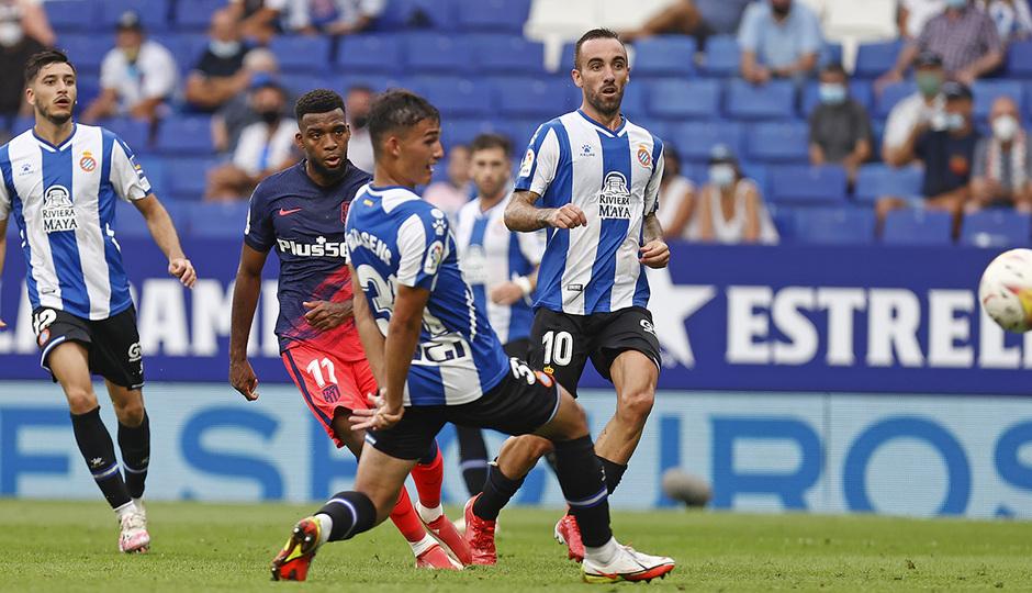 Temporada 21-22 | Espanyol - Atlético de Madrid | Lemar