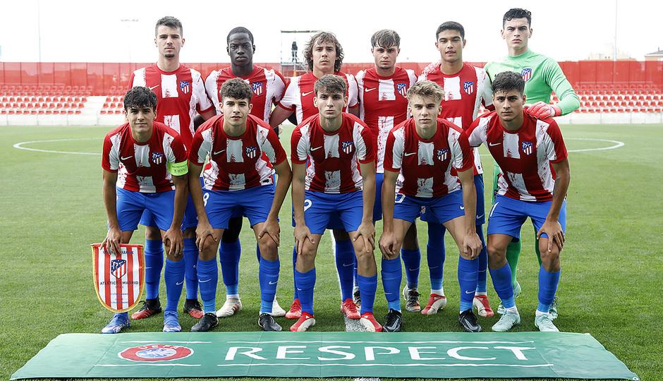 Temporada 2021/22 | Atlético de Madrid Juvenil A - Porto | Youth League | Once