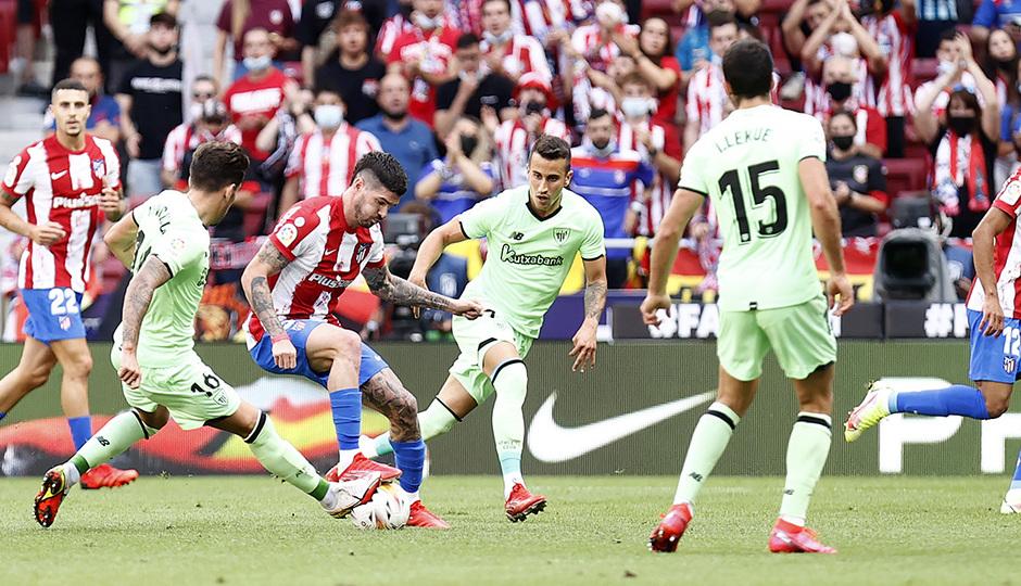 Temporada 21/22 | Atlético de Madrid - Athletic Club | De Paul