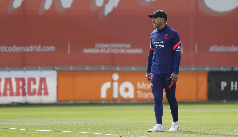 Temporada 2021/22 | Entrenamiento 23/09/21 | Simeone
