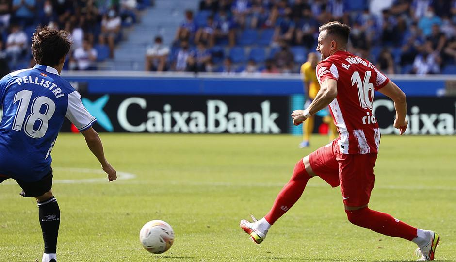 Temporada 2021/22   Alavés - Atlético de Madrid   Herrera