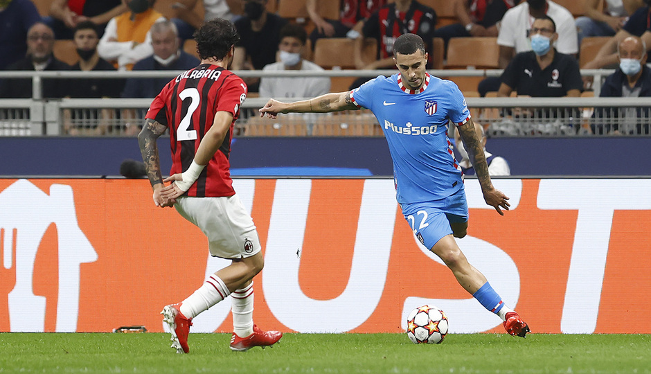 Temporada 2021/22   Champions League   AC Milan - Atleti   Hermoso