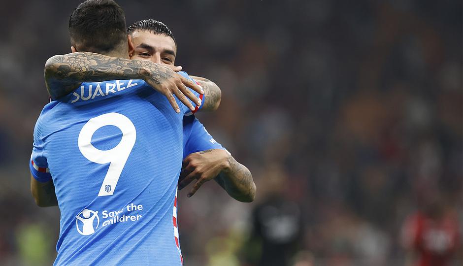 Temporada 2021/22 | Champions League | AC Milan - Atleti | Suárez y Correa