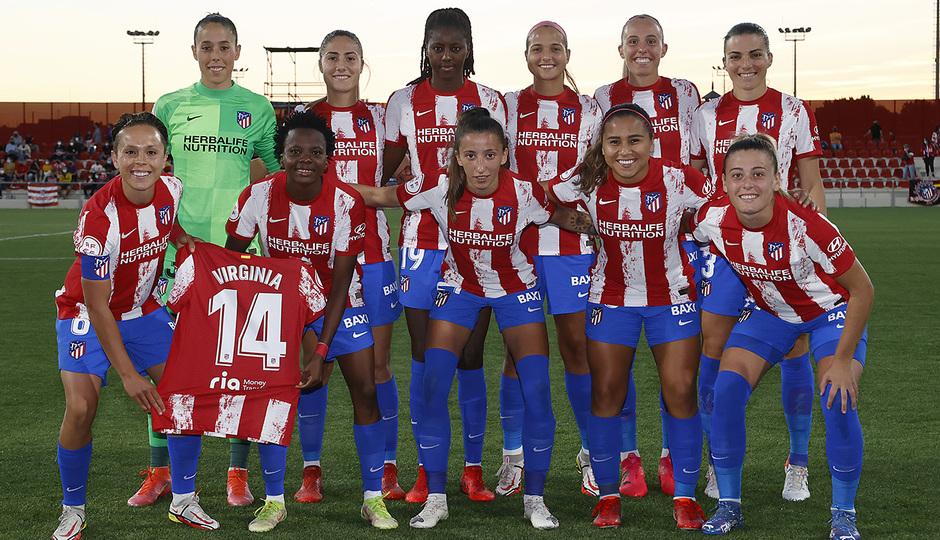 Temporada 2021/22 | Atlético de Madrid Femenino-Alavés | Once